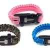 Paracord Bracelet with Survival Tools