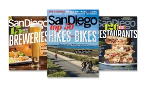 San Diego Magazine: One-, Two-, or Three-Year Print Subscription to San Diego Magazine (Up to 50% Off)