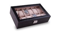 Six or Twelve-Piece Watch Organiser AED 69 - AED 155 (Up to 61% Off)
