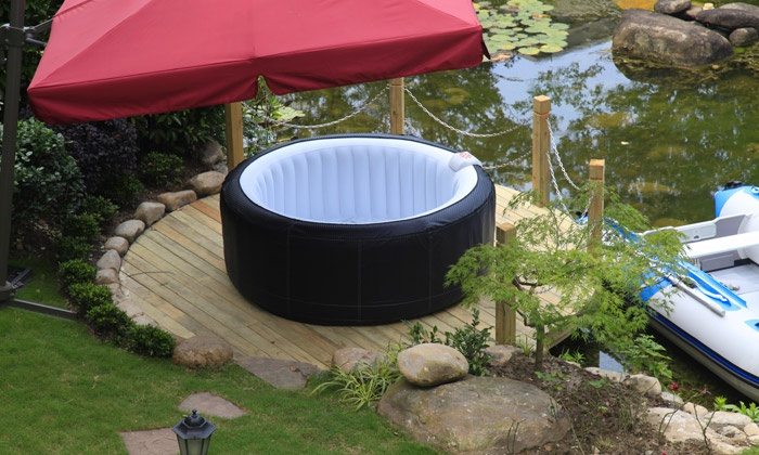 Spa aqua luxe gonflable groupon shopping - Spa gonflable de luxe ...