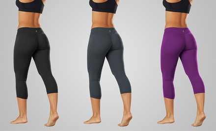 Bally Power Tek Capri Leggings. Multiple Options Available. Free Returns.