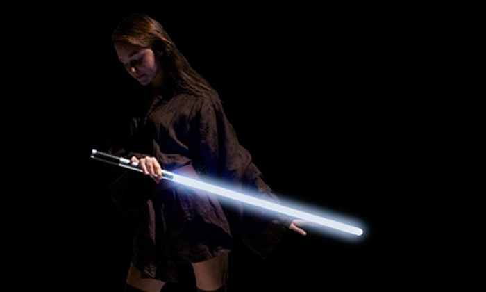 Swordplay Fencing Studio - Multiple Locations: Two or Four Kids' or Adult Jedi-Lightsaber Classes at Swordplay Fencing Studio (Up to 53% Off)
