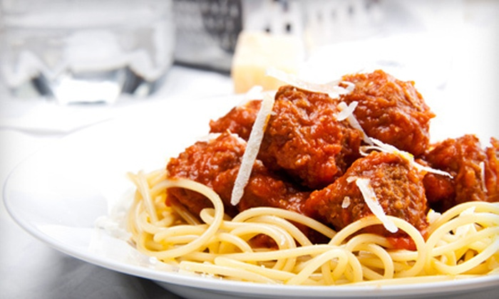 Cucina di Zucchero - Vista: Italian Dinner for Two or Four with Wine or $10 for $20 Worth of Italian Cuisine for Lunch at Cucina di Zucchero
