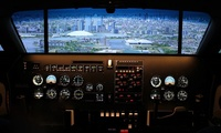 60 or 120-Minute Flight Simulator Experience for Up to Four at Icarus Simulation (Up to 46% Off)