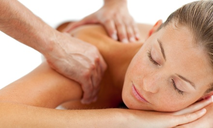 $45 for a Swedish Massage with Aromatherapy or a Foot Scrub and Polish at @ease Massage ($77 Value)