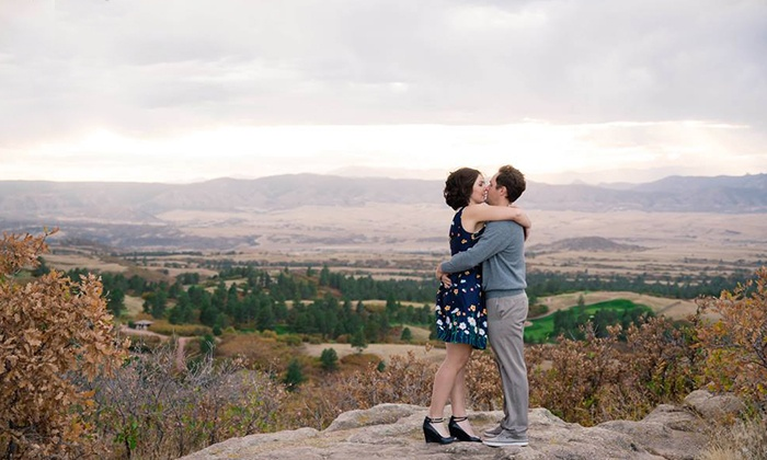 Silver Sparrow Photography - Denver: $59 for 30-Minute Engagement Photo Shoot with 8x10 from Silver Sparrow Photography ($250 Value)