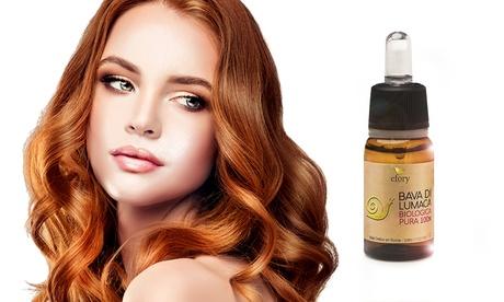 Hasta 3 viales de concentrado de baba de caracol orgánica Efory Cosmetics