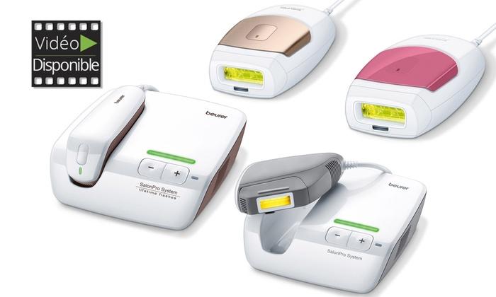 Épilateurs à lumière pulse Beurer de 70 000 à 250 000 flashs dès 11990€ (jusquà 27% de rduction). Livraison offerte