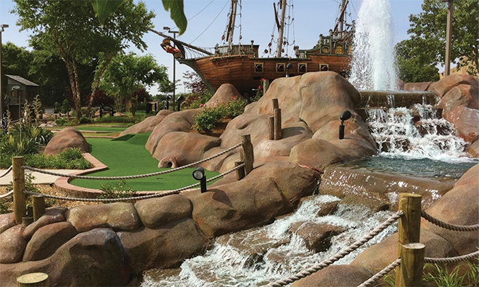 The Fringe & Aurora Cineplex - Roswell: Two or Four Rounds of Mini Golf at The Fringe (Up to 43% Off)