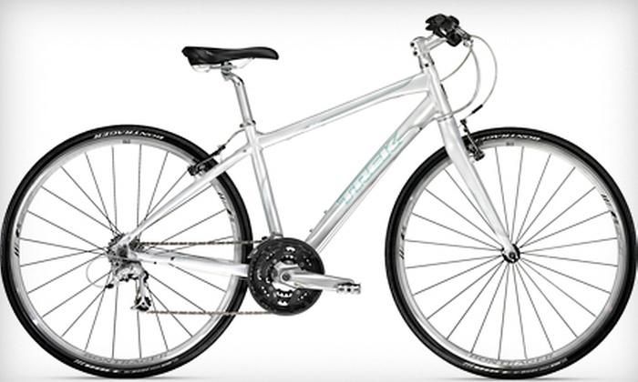 Trek Bicycle Store of Santa Rosa - Santa Rosa: $489 for a 13-, 15-, 17-, or 19-Inch Women's 2012 Trek Bicycle at Trek Bicycle Store of Santa Rosa ($755.96 Value)