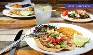 Que Pasa Cantina: Mexican Food and Drinks, Valid Monday–Thursday or Any Day at Que Pasa Cantina (Up to 44% Off)