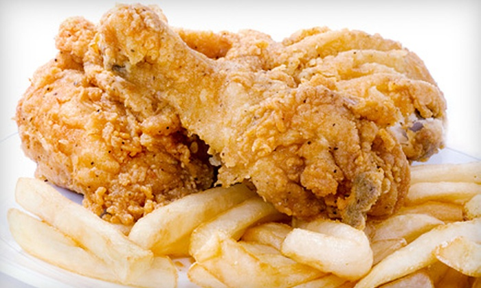 Friendly's Sports Bar and Grill - St. Louis: Fried-Chicken Dinner with Beer for Two or Four at Friendly's Sports Bar and Grill (Up to 52% Off)