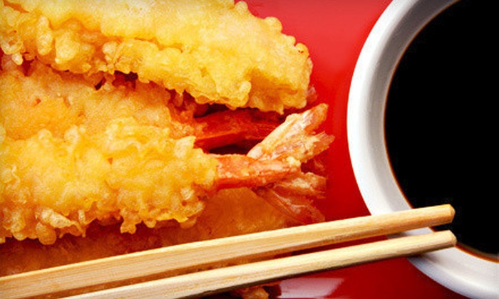 Wok'n Fire - Multiple Locations: $15 for $30 Worth of Sushi and Stir-Fry at Wok'n Fire