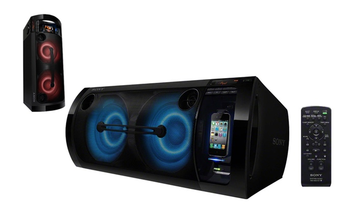 Sony 420W HiFi Music System with iPhone Dock