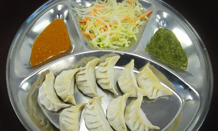 Nepalese Food at Mount Everest Momo Cafe (Up to 40% Off). Two Options Available.
