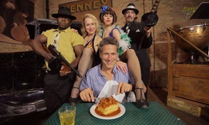 Tommy Gun's Garage Dinner Theater: One or Two Tickets to a Roaring '20s Dinner Show at Tommy Gun's Garage Dinner Theater (40% Off)