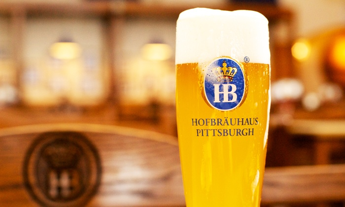 Hofbräuhaus Pittsburgh - Southside Works: $13 for $25 Worth of German Food and Drink at Hofbräuhaus Pittsburgh