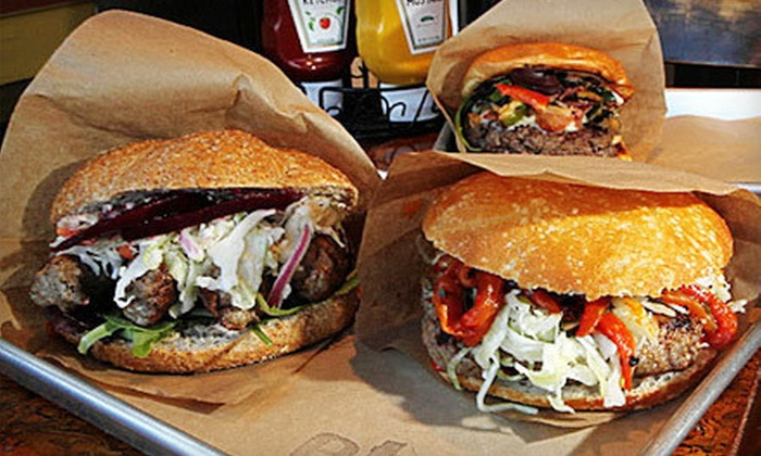 Etno Village Grill - DePaul: $10 for $20 Worth of Gourmet Burgers and Sandwiches at Etno Village Grill