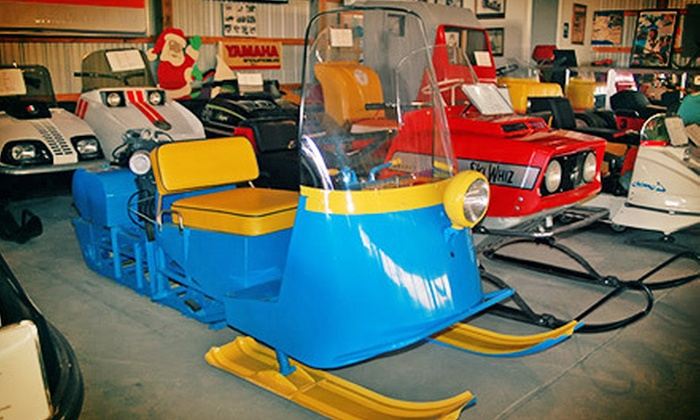 The Snowmobile Barn Museum - Fredon: Visit to The Snowmobile Barn Museum for Two, Four, or Up to Eight (Up to 55% Off)