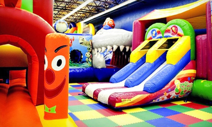 Kidz 'n' Play - Highland: Four Indoor Playground Visits for Children Younger than 3 or Ages 3–10 at Kidz 'n' Play (Up to Half Off)