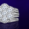 3 CTTW Certified Diamond Bridal Ring in 10K White Gold