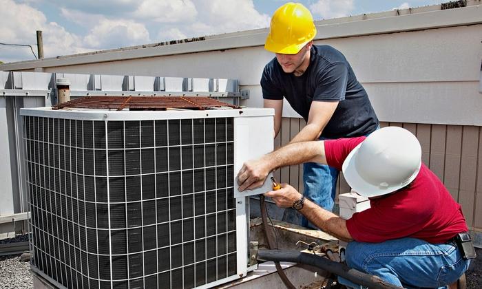 Amtek HVAC - Berkeley: Air Conditioner Inspection, Furnace Inspection, or Both from Amtek HVAC (Up to 84% Off)