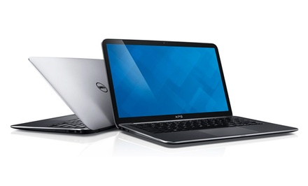 "groupon daily deal - Dell XPS 15.6"" Touchscreen Laptop with 2.8GHz Dual-Core Processor and 8GB RAM (Manufacturer Refurbished). Free Returns."