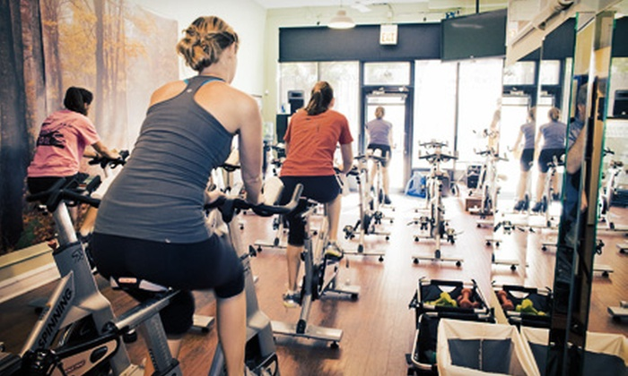 Revolution Spin - Revolution Spin: Three or Five Spin Classes, or One Personal-Training Spin Session at Revolution Spin (Up to 69% Off)