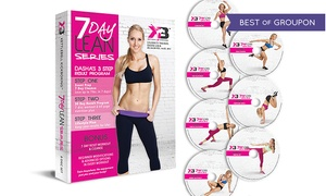 Kettlebell Kickboxing: Kettlebell Kickboxing DVD Sets Featuring Celebrity Trainer Dasha Libin (Up to 55% Off). Three Options Available.