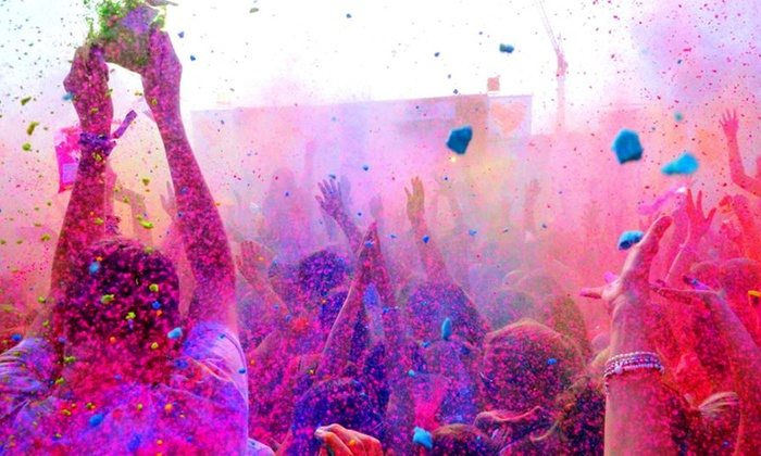 High Roller Boston - Oak Square: Tickets for One or Two to Brighton Color Dance on Saturday, March 22 from High Roller Boston (Up to 52% Off)