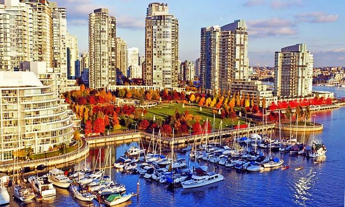 "Quality Hotel Vancouver - ""Inn at False Creek"" - Seattle: Stay with Parking at Quality Hotel Vancouver - ""Inn at False Creek"" in British Columbia. Dates into December."