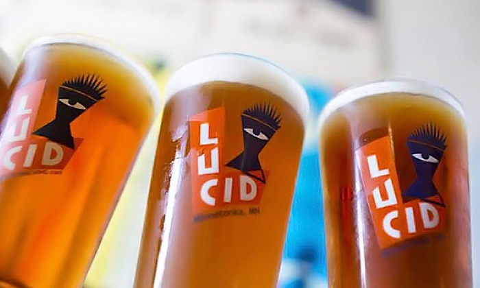 Lucid Brewing - Minnetonka - Hopkins: Public Brewery Tour for Two or a VIP Private Brewery Tour for Four or Eight at Lucid Brewing (Up to 75% Off)