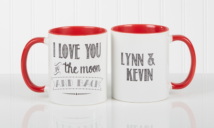 Personalization Mall: Custom Love Quotes Mug from Personalization Mall