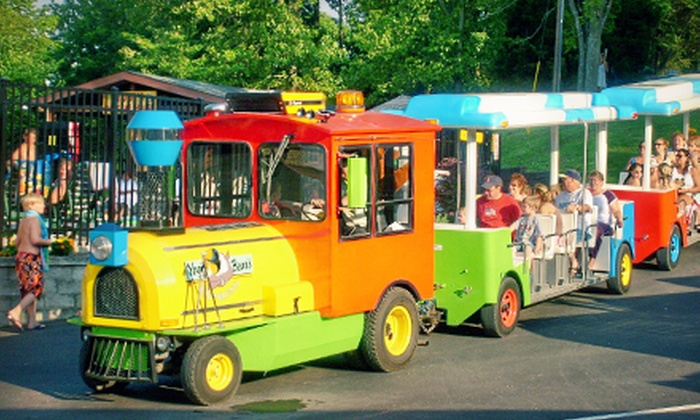 Yogi Bear's Jellystone Park Resort - Next to Six Flags in Eureka: $25 for a Family Fun-Day Package for Up to Five at Yogi Bear's Jellystone Park Resort (Up to $60 value)