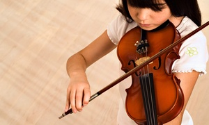 Carter Suzuki Violin & Fiddling: Four or Eight 30-Minute Violin or Fiddle Lessons at Carter Suzuki Violin & Fiddling (Up to 59% Off)