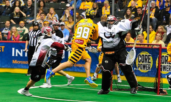 Minnesota Swarm  - Xcel Energy Center: $19 for a Minnesota Swarm Lacrosse Game at Xcel Energy Center on February 6, February 13, or March 14 ($37.62 Value)