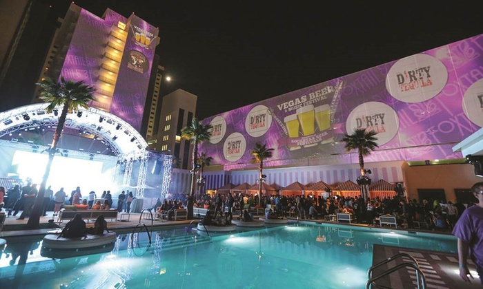 Vegas Beer & Music Festival with Metro Station - The Foundry and Foxtail Nightclub & Pool at SLS Las Vegas: Vegas Beer & Music Festival feat. Metro Station on Friday, March 18, at 6 p.m.