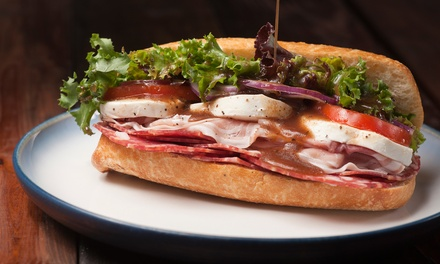 $20 for Two Groupons, Each Good for $20 Toward Deli Sandwiches and Burgers at C & C Deli and Grill