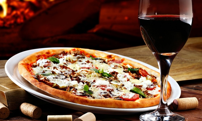 Bella Napoli - New York: Pizza and Wine for Two or Four at Bella Napoli (Up to 57% Off)