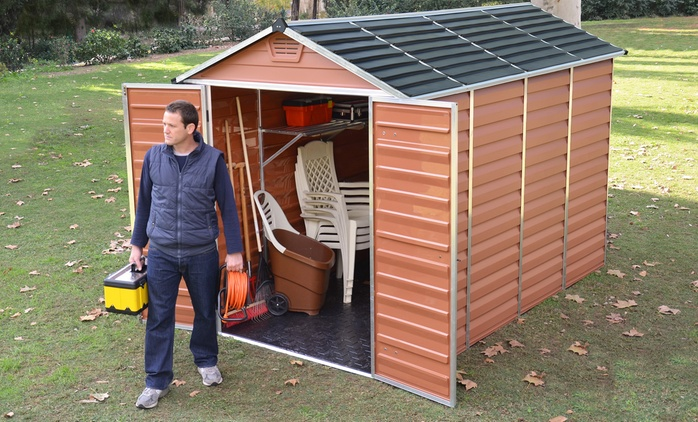 Skylight Sheds in a Choice of Size and Colour from £269.99 With Free Delivery