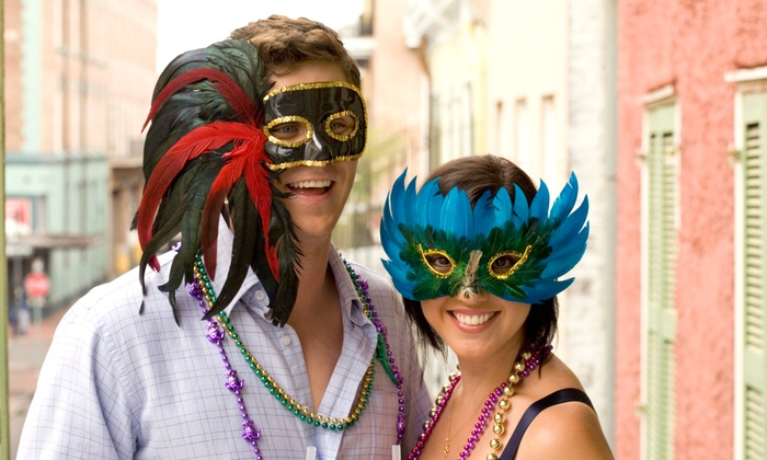 Yaga's Presents - Downtown Galveston: One-Day Entry to Mardi Gras! Galveston for Two, Four, or Six from Yaga's Presents, February 28 (Up to 50% Off)