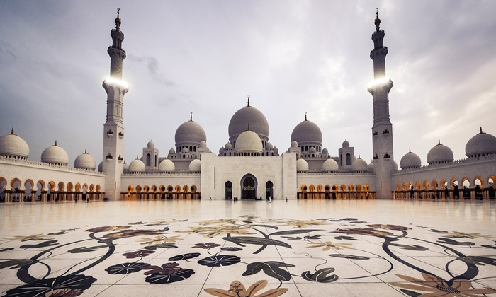 Luxury Tours - Sharjah & N. Emirates: Abu Dhabi City Tour for One, Two or Four with Luxury Tours  (Up to 68% Off)