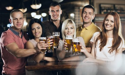 image for Central London, Camden or Shoreditch Pub Crawl for Up to Six from 1Big Night Out (Up to 61% Off)