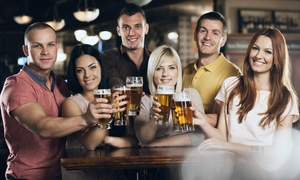 Citrine Entertainment: One or Two Tickets to the Bars and Stripes Pub Crawl Plus Five Drinks Each on Friday, July 3 (Up to 55% Off)
