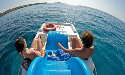 Two- or Four-Hour Electric Pedal-Boat or Gas Powered Jon-Boat Rental from FMB FlyBoard (Up to 51% Off)