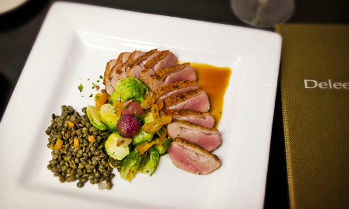 Deleece Restaurant - Lakeview: $25 for $50 Worth of Contemporary American Dinner Cuisine at Deleece Restaurant