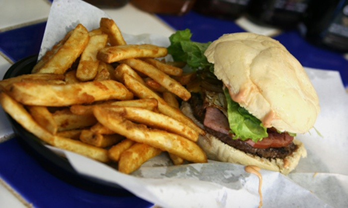 Sammy's - Multiple Locations: Burgers, Shakes, Fries, and American Food at Sammy's (Half Off). Two Options Available.
