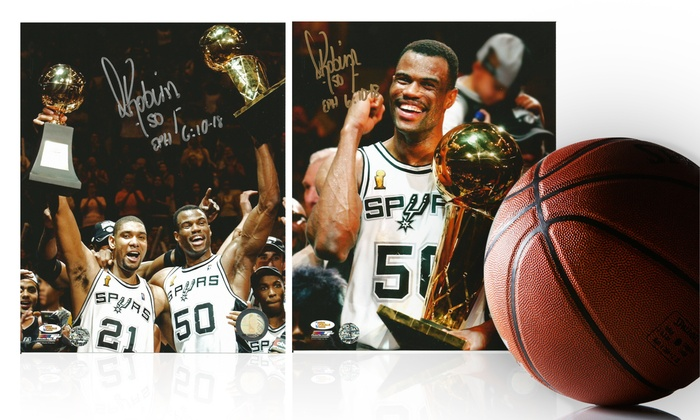 Pro Player Sports Marketing: Autographed David Robinson Photo or $25 for $50 Worth of Photos from Pro Player Sports Marketing