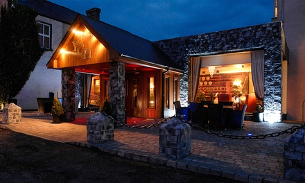 Co. Sligo: 2 Nights for Two with Breakfast, Dinner, Wine, Spa Discount, and Leisure Club Access at Yeats Country Hotel