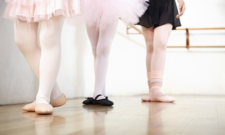 One or Two Months of Ballet Classes at York Ballet (Up to 59% Off). Six Options Available.